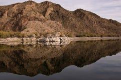 черное река каньона Стоковое Изображение RF