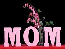 черное слово мамы Стоковое Изображение RF