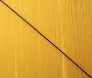 черное спагетти Стоковые Фото