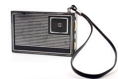 черное старое карманное радио Стоковые Изображения RF