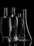 черное стекло Стоковые Фото