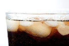 Черное стекло соды Стоковые Изображения RF
