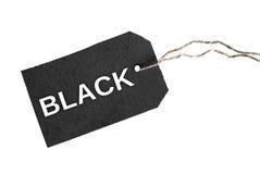 Черное слово Стоковые Фотографии RF
