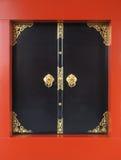 Черное asakusa входа, висок sensoji Стоковое Изображение