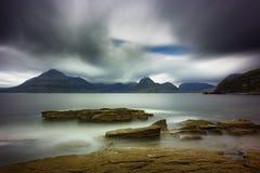 Черное Cuillins от Elgol на Skye Стоковые Изображения RF