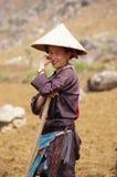 черное dao fields деятельность женщины Стоковое фото RF