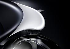 черное metall 02 Стоковое Изображение RF