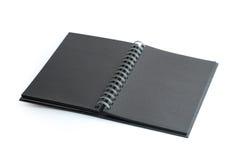 черное notenook Стоковые Фотографии RF
