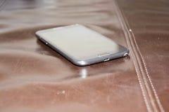 Черное smartphone Стоковые Фото