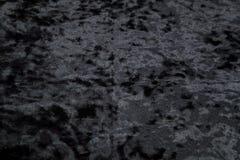 Черное velor как предпосылка Стоковое Изображение
