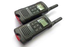черное walkie talkie Стоковое Фото