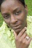 чернокожая женщина Стоковые Изображения RF