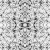 Чернота абстрактного вектора безшовная Стоковая Фотография