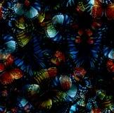 Чернота 03 бабочки безшовная Стоковые Фото