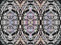 Чернота безшовной картины многоточий серая Стоковая Фотография