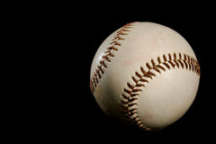 чернота бейсбола шарика предпосылки Стоковое фото RF