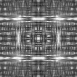 Чернота выравнивает вид решетки Стоковые Фото
