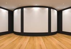 Чернота галереи Стоковые Изображения