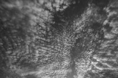 Чернота голубого неба и пока Стоковое Изображение