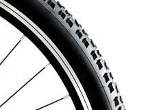 Чернота и колесо велосипеда сплава Стоковые Фотографии RF