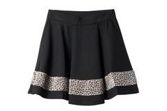 Чернота и юбка леопарда Стоковые Изображения RF