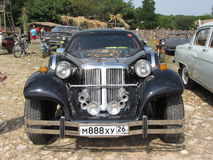 Чернота Кадиллака Стоковые Фотографии RF