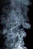 чернота конспекта над дымом стоковое фото