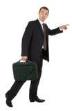 чернота мешка нося высоких детенышей костюма человека Стоковая Фотография RF