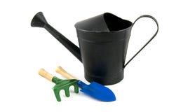 чернота может проутюжить мочить лопаткоулавливателя сгребалки Стоковые Фотографии RF