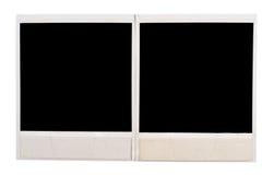 чернота обрамляет фото Стоковая Фотография