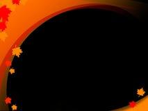 чернота осени Стоковые Изображения