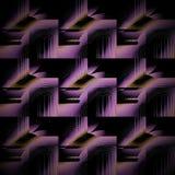 Чернота регулярн футуристической картины фиолетовая фиолетовая ocher раскосно иллюстрация штока