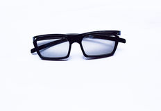 чернота стекел 3D Стоковое фото RF
