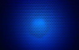 Чернота текстуры гриля диктора Стоковые Фото