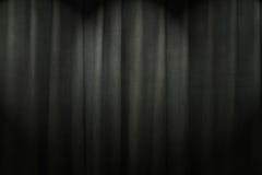 Чернота текстуры занавеса стоковая фотография