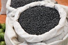 чернота фасолей Стоковое Фото
