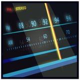 Чернота частоты Стоковая Фотография