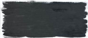 Чернота чистит предпосылку щеткой краски акварели текстуры, помечая буквами эскиз scrapbook иллюстрация штока