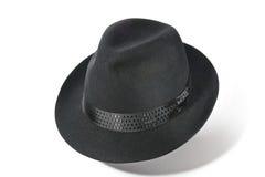 Чернота шляпы Стоковое Фото