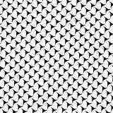 Черно-белая абстрактная предпосылка вектора и безшовная картина повторения конструируют иллюстрация вектора