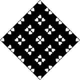 Черно-белая безшовная изогнутая картина стоковое изображение