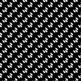 Черно-белая безшовная повторенная геометрическая предпосылка картины искусства Ткань, книги иллюстрация штока