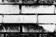 Черно-белая картина кирпичной стены как предпосылка стоковое фото