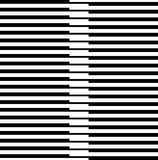 Черно-белая картина нашивки Стоковое Фото