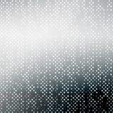 Черно-белая накаляя поставленная точки предпосылка Стоковые Фотографии RF