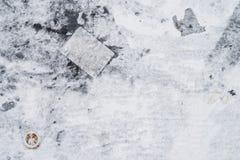 Черно-белая предпосылка сделанная из старого плаката с ржавым акцентом Стоковые Изображения