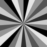 Черно-белая предпосылка Starburst бесплатная иллюстрация