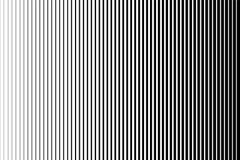 Черно-белая простая картина Световой эффект Предпосылка градиента с линией Дизайн полутонового изображения иллюстрация вектора