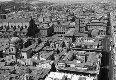 Черно-белая съемка болонья - Италии Стоковое Изображение