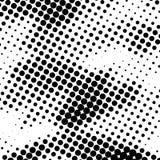Черно-белое полутоновое изображение ставит точки предпосылка иллюстрация вектора